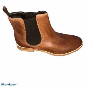 Clarks Women's Brown Maypearl Nala Ankle Bootie